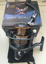 HongYing HA6000 Series Fishing Reel Spinning Freshwater Saltwater with 5.2:1