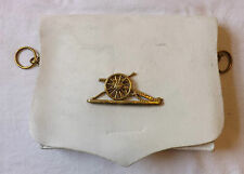 Military Royal Artillery Officer White Leather Ammunition Cross Belt Pouch (1942