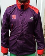 BNWT ADIDAS LONDON 2012 OLYMPICS Windbreaker lightweight jacket Large