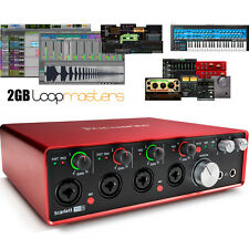 USB Audio Interface with Pro Tools - Focusrite Scarlett 18i8 (2nd Gen)  | First