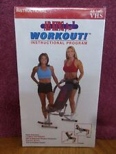 AB King Pro Workout Instructional Exercise Program  2002 VHS Video   BRAND NEW