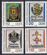 DDR 1990 Mi. Nr. 3302-3305 Kleinformat 28 : 33 Postfrisch ** MNH