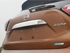 For Nissan Murano 2015 2016 ABS Chrome Plated Rear Trunk Lid Cover Trim
