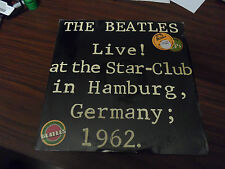 Beatles Live at the Star Club in Hamburg Germany 1962 Bellaphon Sealed LP