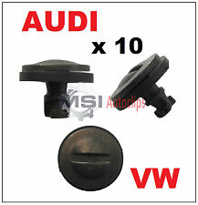 10 x AUDI VW VOLKSWAGEN Bumper Trim Protection Screw Spoiler Dowel Pin