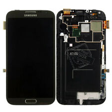 AAA+ Samsung Galaxy Note 2 N7100 LCD Touch Screen Digitizer Frame Assembly Gray