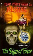 The Sign of Fear (Fear Street, No. 4) by R. L. Stine