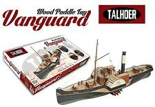 "Detailed, New Wooden Model Ship Kit by Disar: the ""Wooden Paddle Tug Vanguard"""