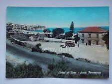 CASTEL DI TUSA bus autobus scalo ferroviario Messina vecchia cartolina