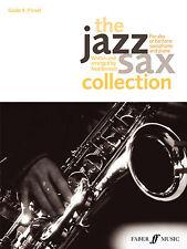 The Jazz Sax Collection Alto SAXOPHONE Baritone Solo Piano FABER Music BOOK