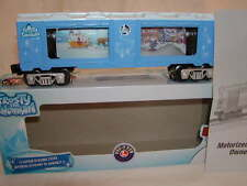 Lionel 6-81427 Frosty Snowman Operating Parade Aquarium Car O 027 Shelf Display