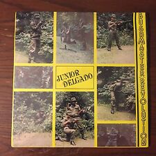 Sealed JUNIOR DELGADO Bushmaster Revolution LP ROOTS REGGAE Rare