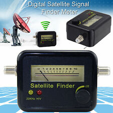 Analogico Segnale Satellite finder Misuratore di resistenza Display LCD Per Sat Piatto Directv