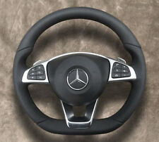 AMG-Package ◆ Mercedes-Benz ◆ Steering wheel ◆ Leather / Perf. leather ◆ Airßag