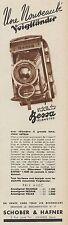 Y8658 Apparecchio fotografico Voigtlander BESSA - Pubblicità d'epoca - 1936 Ad