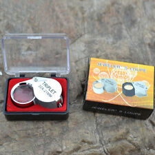 2015 New Style 30X 21mm Folding Jeweler Loupe Magnifier Hand Lens Glass Gift