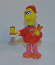 "3.75"" Big Bird in Pajamas Radar Teddy Bear Action Figure Sesame Street Workshop"