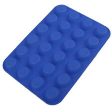 24Cup Muffin Silicone Soap Cookies Cupcake Bakeware Pan Tray Baking Mold new hot