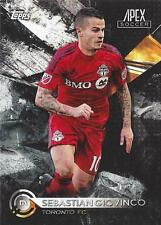 2016 Topps Apex Soccer - Hand Collated Complete Set (1-100) Major League Soccer