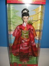 PRINCESS OF JAPAN BARBIE DOLLS OF THE WORLD COLLECTION NRFB NEW