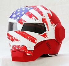 Masei 610 US Flag Patriots Motorcycle Bike NFL NCAA HJC Icon Shoei Batman Helmet
