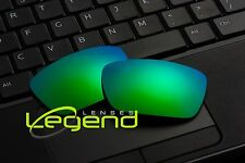 A61 GREEN POLARIZED Replacement Lenses For Oakley FUEL CELL 1.5mm thickness