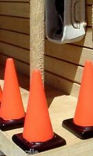 Traffic Cones Custom Miniatures (5) 1/24 Scale G Scale Diorama Accessory Items
