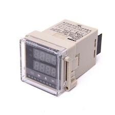 10pcs Terminals Digital 2-Row LED Display Time Relay Frequency Speed Counter