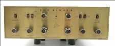 Fisher X-100 Stereo Tube Amplifier, 5AR4 rectifier, Very Clean, Classic Sound