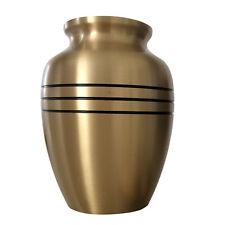 Mittlere Denkmal Urne für Asche - Klassisch Zinn Einäscherung Urne für Asche
