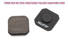 SELCOF SEMI METALLIC DISC BRAKE PADS FOR FORMULA EVOLUZIONE, REPLACEMENTS, S-205