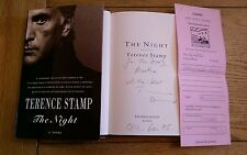 The Night SIGNED DATED LOCATED Terence Stamp HB 1993 1st Edition 1st Impression
