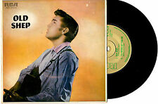 "ELVIS PRESLEY - OLD SHEP - AARM GOLD RECORD AWARD CERTIFIED EP 7""45 VINYL RECORD"