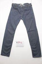 Levi's 504 straight boyfriends jeans usato (Cod.E891) Tg 45 W31 L34