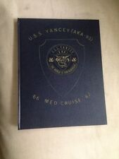 US Navy Ship USS Yancy AKA 93 1966 1967 Med Cruise The World Is Our Beachhead
