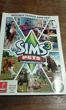 * Paperback Book * THE SIMS 3 PETS EXPANSION PACK * Free Post