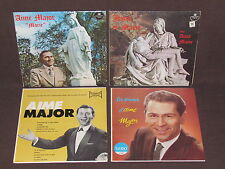 AIME MAJOR 4 LP RECORD ALBUMS LOT COLLECTION Aimé French Quebec Jazz SOUVENIR+