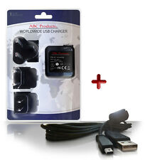 KODAK EASYSHARE V1253 / V1273 DIGITAL CAMERA U-8 USB CABLE + BATTERY CHARGER K20