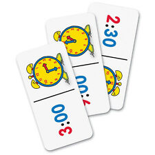 Learning Resources Time Dominoes Game  - Learn to tell the time with dominoes
