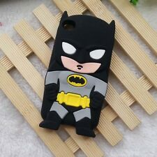 for iPod Touch 4th Gen - Soft Silicone Rubber Skin Case Cover Batman Superhero