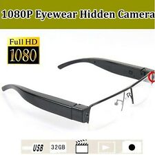 NEW FULL HD SPY CAMERA IN READING GLASSES 1920*1080p VIDEO/SOUND DVR SD RECORDER