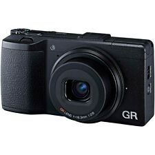 New RICOH GR II Digital Camera 16.2MP 18.3/f2.8 Lens WirelessFlash Built-In Wifi