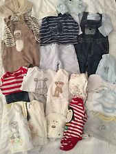 Baby Boys Clothing Bundle- 0-3 Months, Newborn- Next, Mothercare, M&S