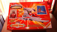 Power Rangers Time Force Deluxe Red Vector Wing with Instructions / Box RARE