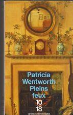 Patricia Wentworth - Pleins feux - grands détectives . Bon état. 05/01