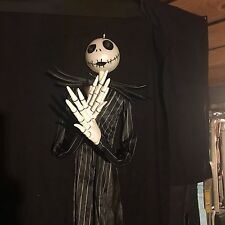 DISNEY NIGHTMARE BEFORE CHRISTMAS 6 FT JACK HANGING ANIMATED LIGHTS/SOUNDS NEW!