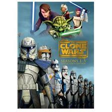 Star Wars: The Clone Wars - The Complete Seasons 1-5 (DVD, 2013, 19-Disc Set, Co