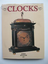 Oversize book on rare CLOCKS by John Hunter Horology, early history, rare items