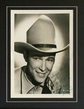 Autograph Roy Rogers Don't Fence Me In Trigger Signed Photo Repro