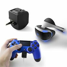 3.5mm Audio Jack PS4 Headset Adapter For PlayStation4 Headset Volume&Mic Control